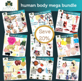 Human Body Clip Art Mega Bundle