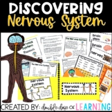 Human Body: Nervous System Research Unit with PowerPoint