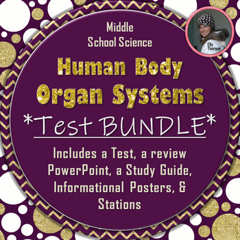 Human Body Systems Assessment Bundle