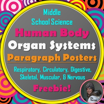 Human Body Organ System Informational Paragraph Posters