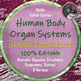Human Body Systems Review Editable PowerPoint