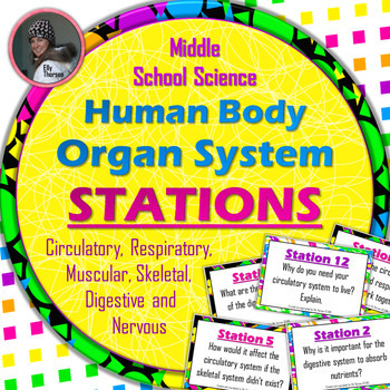 Human Body Systems Stations