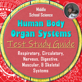 Human Body Systems Test Study Guide