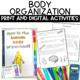 Human Body Organization Digital Notebook Activity for Google Classroom