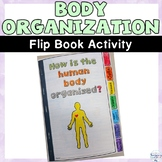 Human Body Organization Flip Book Activity