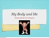 Human Body Organs Notes