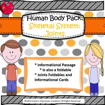 Human Body Pack: Skeletal System (Joints)