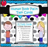 Human Body Pack: Task Cards