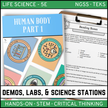 Human Body Part 1 - Demos, Labs and Science Stations