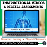 Human Body Part 1 Instructional Videos & Quiz - Distance Learning