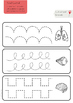 Human Body Pencil Control Practice Strips