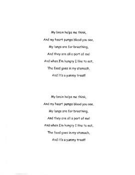 Human Body Poem