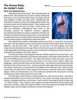Human Body Introduction