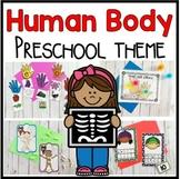 Human Body Math and Literacy Centers for Preschool, PreK, and Kindergarten