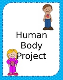 Human Body Project - Editable