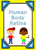 Human Body Ratios- 6.RP.1
