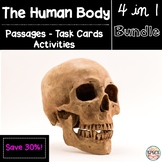 Human Body Reading Bundle: Task Cards and Passages