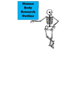 Human Body Research Outline