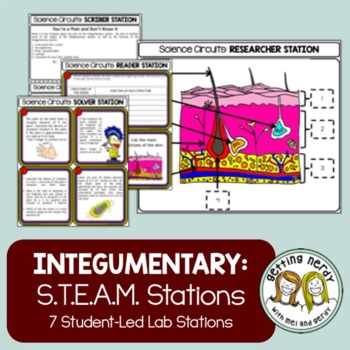 Integumentary System - Science Centers / Lab Stations