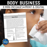 Human Body Processes Reading Passages