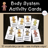 Human Body System Activity Cards