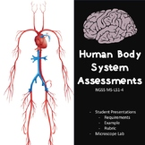 Human Body System Assessments: MS-LS1-3