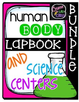 Human Body Systems Lapbook and Science Centers BUNDLE