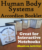 Human Body Systems Activity Interactive Notebook Foldable