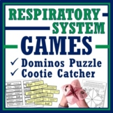 Human Body Systems: Respiratory System Activity (2 Games) NGSS MS-LS1-3