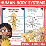 Human Body Systems   Easel Activity Distance Learning