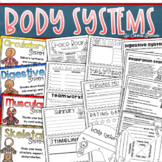 Human Body Systems Activities, Project, Craft, Quizzes, Posters Bundle