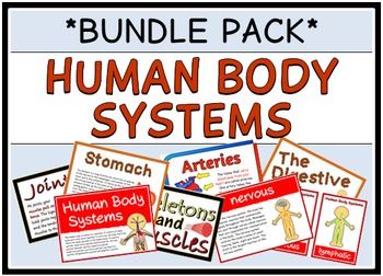 Human Body Systems (BUNDLE PACK)