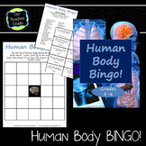 Human Body Systems Bingo