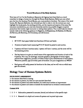 Human Body Systems Brochure