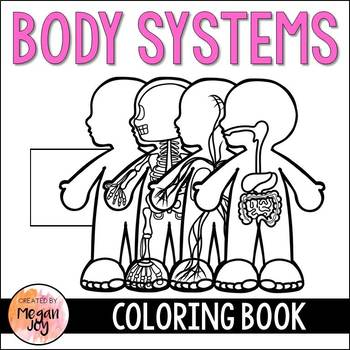 Anatomy Body Systems Coloring Book Teaching Resources