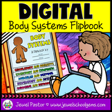 Body Systems DIGITAL Flipbook (Google Classroom Distance L