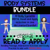 Human Body Systems DIGITAL Read and Apply BUNDLE