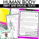 Human Body Systems Digital Reading Notebooks for Google Classroom Bundle