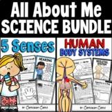 Five Senses & Human Body Systems Activities BUNDLE