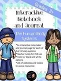 Human Body Systems- Interactive Notebook- Grades 3+