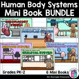 Human Body Systems Mini Book Bundle for Early Readers