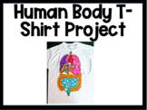 Human Body Systems Organ T-shirt Project