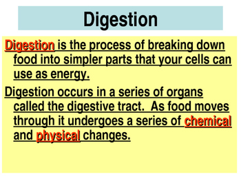 Human Body Systems Part 1 PowerPoint