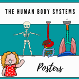 Human Body Systems Posters - Anchor Charts