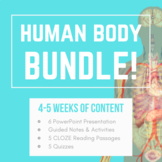 Human Body Organ Systems- PowerPoint, Guided Notes/Activit
