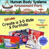 Human Body Systems Project-Amusement Park (Editable)