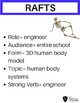 Human Body Systems Project- Recycle Model