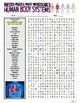 Human Body Systems Puzzle Page (Wordsearch and Criss-Cross)