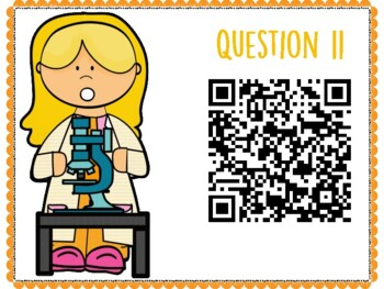 Human Body Systems QR Code Hunt