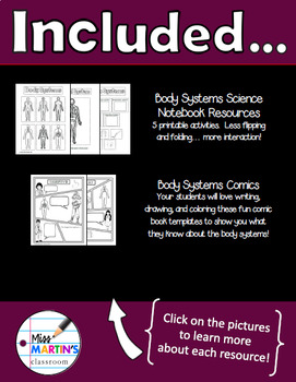 Human Body Systems Science Bundle